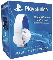 Sony Wireless Stereo Headset 7.1 v2.0 WHITE (PS4/ PS3/ PSV/ PC) - kopie