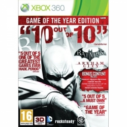 Batman: Arkham City (Game of the Year Edition) XBOX360